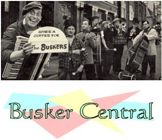 Street performing at Busker Central